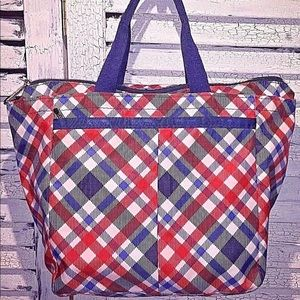 LeSportsac American Plaid Tribeca Tote Bag